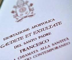 Exortação apostólica Gaudete Et Exsultate do Santo Padre Francisco