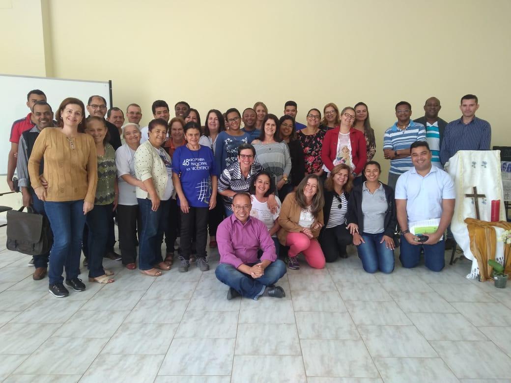 Encontro da Área Pastoral São Miguel