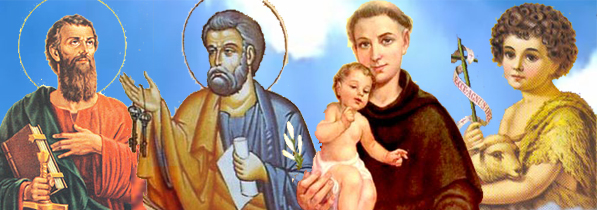 Os santos mais populares de junho