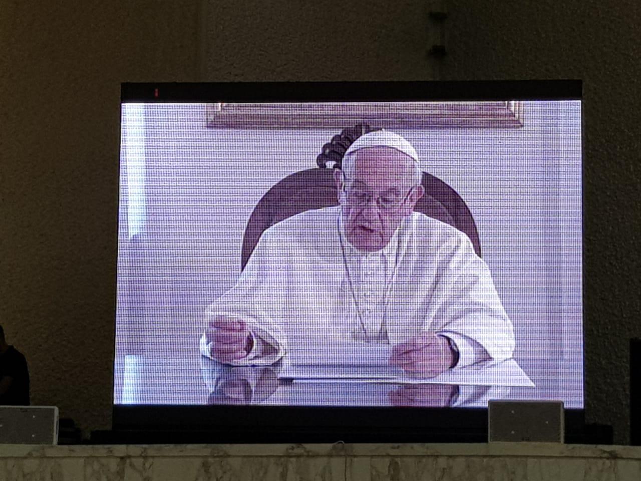 Mensagem do Papa Francisco aos participantes do II Congresso Internacional de Catequese em 22/09/2018