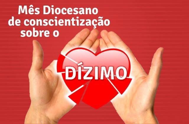 MÊS DE NOVEMBRO, TEMPO DE CONSCIENTIZAÇÃO DO DÍZIMO NA DIOCESE DE GUANHÃES!