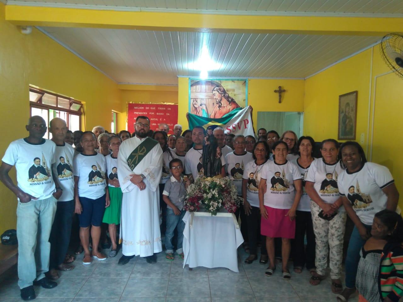 Festa em honra a São Vicente de Paulo em Rio Vermelho