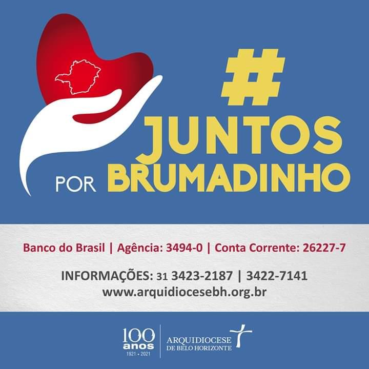 Juntos por Brumadinho: ajude os atingidos pelo rompimento da barragem