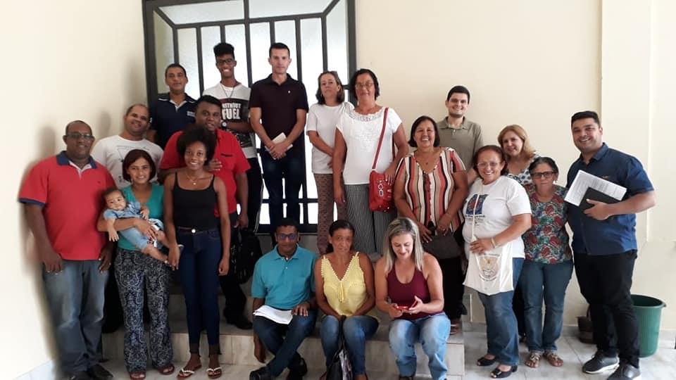 Reunião na Área São Miguel