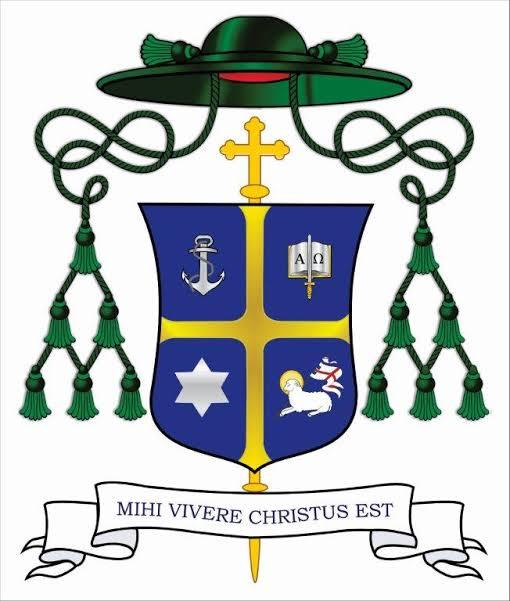 """""""Para mim viver é Cristo"""" – Brasão Episcopal de dom Otacílio"""