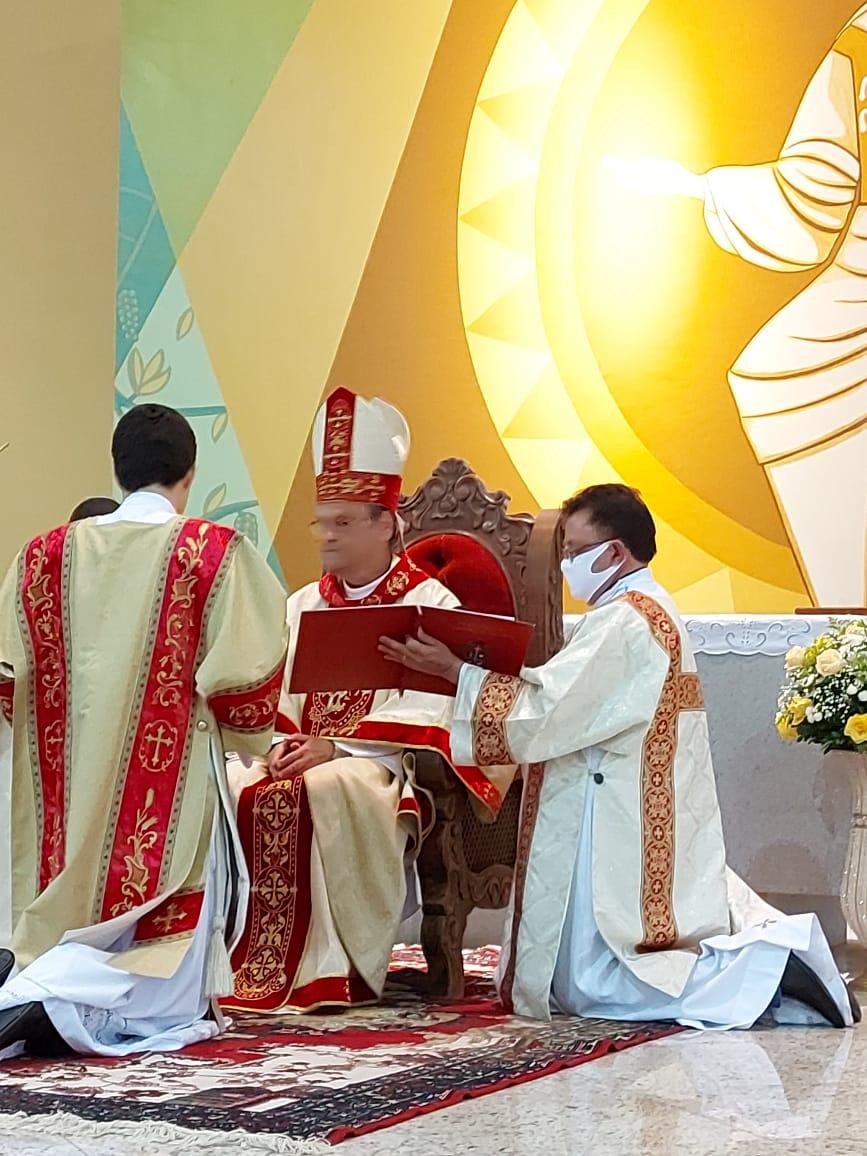 Ordenação Diaconal do Seminarista Guilherme Soares Lage