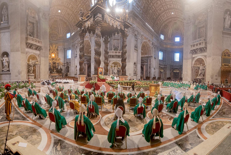 Papa: Sínodo é um evento de graça, estar aberto às surpresas do Espírito